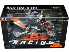 AUTOMAXX 601401OR KTM 450 SMR SM-R 09 2009 DIRT BIKE 1/12 ORANGE / BLACK