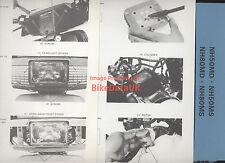 Genuine Honda NH80MD NH50MS Lead Vision Workshop Manual Book NH 50 80 MD MS Aero