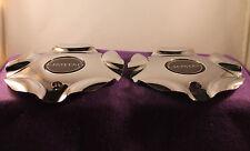 LIMITED CHROME CUSTOM Wheel Center Caps (SET OF 2) P/N # KG-6
