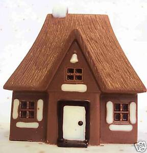 Hand-made 3D Belgian Chocolate House/Cottage