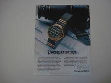 advertising Pubblicità 1983 OROLOGIO WINTEX