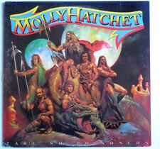 "MOLLY HATCHET ""Take No Prisoners"" 12"" LP Southern Rock Epic FE-37480 PROMO STAMP"