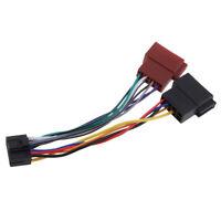 Telaio per autoradio adattatore per cablaggio ISO 16 pin per Kenwood /