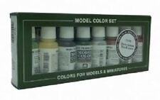 VAL70105  Model Color Set - Orcs & Goblins   VALLEJO 8 X 17ml ACRYLIC PAINT SET