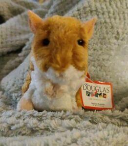 NWT Douglas Brushy Hamster Plush Stuffed Animal