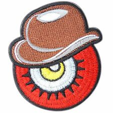 Red Eye Ball Monster Devil Evil Zombie Wicca Occult Biker Iron On Patches #SA004