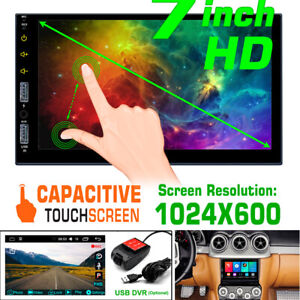 7'' Android 9.1 High-definition Screen 1GB+16GB WIFI Networking Car MP5 Player