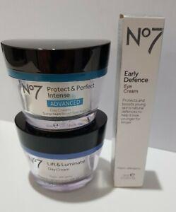 No7 protect & prefect intense advanced cream x3 anti-aging