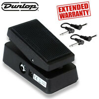 Dunlop CBM95 Cry Baby Mini Wah Pedal Includes 2 Guitar Patch Cables and 1-Year E