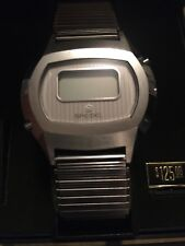 Vintage Digital Watch LCD Brand New From The 1970's MENS