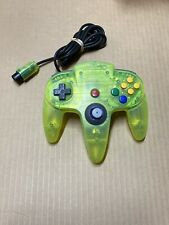 Vintage Nintendo 64 N64 Controller Extreme Lime Green OEM 7/10 Stick Clean Rare
