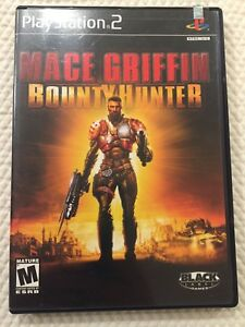 Mace Griffin Bounty Hunter ( Sony PlayStation 2 ) PS2, Complete  W/Case & Manual