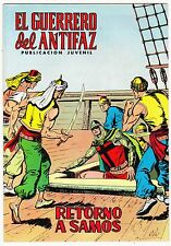 EL GUERRERO DEL ANTIFAZ (Reedición color) nº:  88.  Valenciana, 1972-1978.