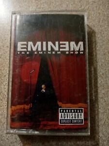 Eminem  The Eminem Show Cassette Tape Slim Shady Marshall Mathers