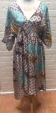 New Women's Designer Silk Dress By Lola label Size M