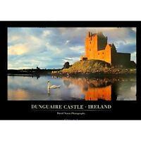 """DUNGUAIRE CASTLE, IRELAND - DAVID NOTON - 91 x 61 CM 36 x 24"""" LANDSCAPE POSTER"""