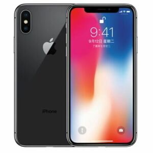 NEW Apple iPhone X 64GB | 256GB (GSM UNLOCKED) SPACE GREY | SILVER