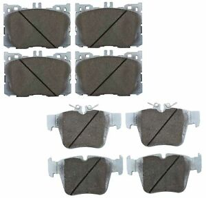 Beck-Arnley Ceramic Front and Rear Brake Pads Set Kit For MB X253 GLC300 GLC350e