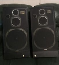 "RARE VINTAGE JENSEN 3100 HOME SPEAKERS 26"" Tall FREE SHIPPING"
