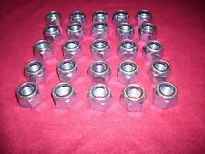 NYLON INSERT JAM LOCK NUTS,  GRADE 2 ,LOCKNUT,   NUT , 5/8-18,  Qty: 25