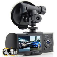 Fiat Punto Dual Dash Cam Split Screen With G-Sensor GPS Stamp