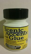 Woodland Scenics A198 accent glue 1.25 oz
