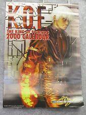 """KOF99 CALENDAR Year 2000 20.5"""" x  28.5"""" SNK Poster Art Print /204"""