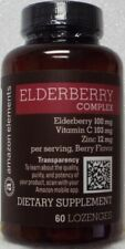Amazon Elements Elderberry Complex Dietary Supplement - 60 Lozenges