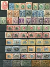 68 Old & Antique Used Postage Stamps Guatemala