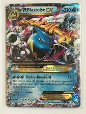 MEGA Blastoise EX ULTRA RARE 30/146 Pokemon Card TCG XY Base Set HOLO NM