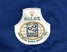 Patch, ISAF International Sailing Federation - ROLEX WORLD SAILOR - A CUCIRE