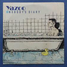 Yazoo - Nobody's Diary / State Farm - Mute Records 7YAZ003 Ex/Ex JUKEBOX READY