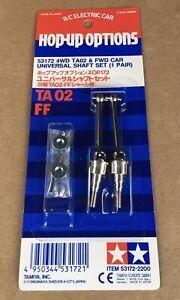Tamiya 53172 4WD TA02 & FWD CAR Universal Shaft Set (1 Pair) New TA03