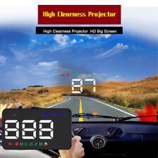 Dual-Mode Car HUD Projector Digital GPS Speedometer Alarm Display For BMW Benz
