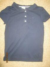 Euc Gymboree Girls Navy School Uniform Polo Shirt Size 10