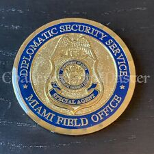 C95 Diplomatic Security Service Miami Field Office Challenge Coin