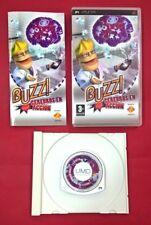 Buzz!: Cerebros en acción - PSP - USADO - BUEN ESTADO