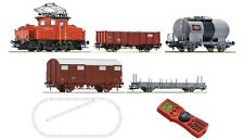 Roco 41405 Digital starter set: elektrolokomotive ee3/3 + train de marchandises, sbb h0 DC