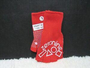 Zeronine 100% Cotton BMX Fingerless Bike Gloves Various Sizes And Colors New