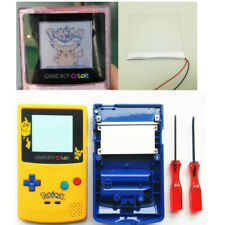 Frontlit Front Light Set For Nintendo Game Boy Color &Yellow Blue GBC Shell Case