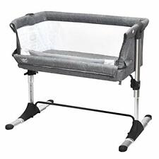 Bedside Bassinet Baby Sleeper Portable Newborn Bed Side Crib with Carrying Bag