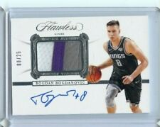 2019-20 Panini Flawless BOGDAN BOGDANOVIC PATCH Auto Jersey # 8/25 KINGS