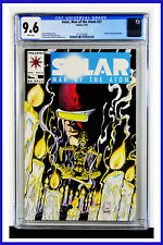 Solar Man Of The Atom #21 CGC Graded 9.6 Valiant May 1993 Comic Book