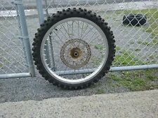 2002 Yamaha YZF 250 Front wheel Nice Straight tight excell rim AHRMA vintage