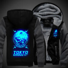 Sweater NEW Anime Tokyo Ghoul Ken Kaneki Unisex Thicken Luminous Jacket Hoodie
