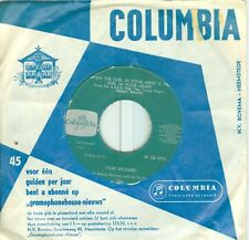 CLIFF RICHARD & THE SHADOWS- WHEN THE GIRL/GOT A FUNNY FEELING (COL 4716)'63