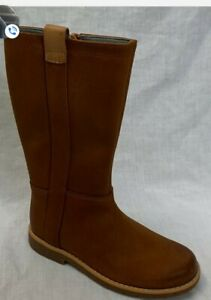 CLARKS   Comet Wild Tan Leather Cute 3 1/2 M New