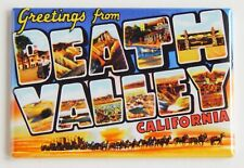 Greetings from Death Valley California Fridge Magnet travel souvenir