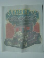 """1974 Roach """"Street is Neat"""" Hot Rod Dragster Iron On Transfer Unused"""