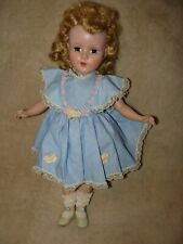 14� Vintage American Character Sweet Sue Blonde Doll, original clothes, shoes